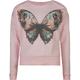 FULL TILT Butterfly Girls Cold Shoulder Tee