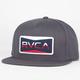 RVCA Reds Twill Mens Snapback Hat