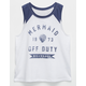 BILLABONG Mermaid Girls Muscle Tee