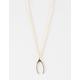 FULL TILT Dainty Wishbone Necklace