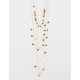 FULL TILT 3 Layer Triangle Charm Necklace