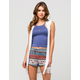 FULL TILT Hooded Boho Womens Vest