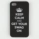 Keep Calm Swag iPhone Case