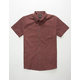 VOLCOM Everett Minicheck Mens Shirt
