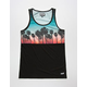 NEFF Palm Stripes Mens Tank