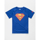 UNDER ARMOUR Tech Superman Little Boys T-Shirt