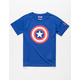 UNDER ARMOUR Tech Captain America Little Boys T-Shirt