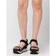 DIRTY LAUNDRY Gung Ho Womens Flatform Sandals