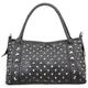Studded Duffle Handbag
