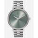 NIXON Kensington Silver Watch