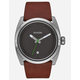 NIXON Kingpin Leather Watch