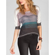 FULL TILT Stripe Womens Hachi Top
