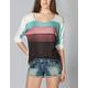 FULL TILT Stripe Womens Hachi Top