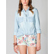 ALI & KRIS Chambray Womens Shirt