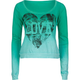 FULL TILT Dip Dye Love Womens Tee