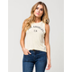 POOLHOUSE LA Womens Muscle Tee