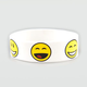 Smiley Faces Rubber Bracelet