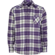 BLUE CROWN Wonka Mens Flannel Shirt