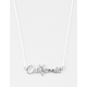 KRIS NATIONS California Script Necklace