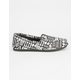 TOMS Womens Canvas Classic Slip-Ons