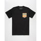 RIOT SOCIETY Tribal Pocket Mens T-Shirt