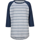 BLUE CROWN Stripe Boys Baseball Tee