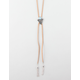 FULL TILT Suede Triangle Lariat Necklace