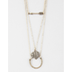 FULL TILT 3 Layer Arrow/Chief Necklace