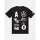 ASPHALT YACHT CLUB Worldwide Mens T-Shirt