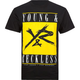 YOUNG & RECKLESS Bold Logo Mens T-Shirt