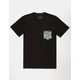 RIP CURL Exile Custom Mens Pocket Tee