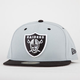 NEW ERA 59Fifty Raiders Mens Fitted Hat