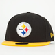 NEW ERA 59Fifty Steelers Mens Fitted Hat