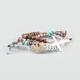 FULL TILT 3 Piece Cross Beaded Bracelets