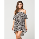 BILLABONG Off The Shoulder Dress