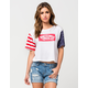 VANS Dots And Stripes Womens Tee