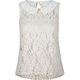 FULL TILT Lace Peter Pan Collar Womens Top