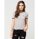 VANS Original Heart Womens Ringer Tee