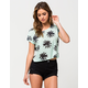 FULL TILT Palm Womens Tee