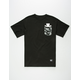 GRIZZLY Summer Crop Mens Pocket Tee