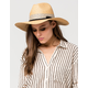 Patterned Crown Floppy Hat