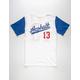 ASPHALT YACHT CLUB Hard Ball Boys Baseball Tee