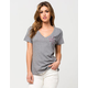 HURLEY Commander Womens V-Neck Tee