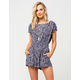 OTHERS FOLLOW Salty Skies Womens Romper
