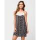 FULL TILT Ethnic Crochet Dress
