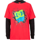 DC SHOES 2fer Super Boys Hooded T-Shirt
