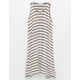 FULL TILT Stripe Girls Racerback Dress