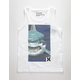 HURLEY Shark Face Little Boys Tank