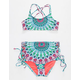 HOBIE High Waist Bralette Girls Bikini Set