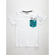 HURLEY Pocket Play Little Boys Pocket Tee